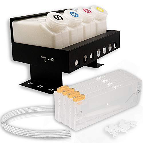 Sistema CISS / Bulk 4C - Sistema de 4 C con impresoras Roland, Mutoh & Mimaki (CMYK, 4 cartuchos)