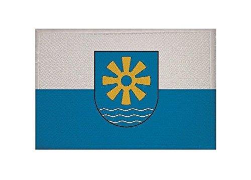 U24 Aufnäher Bodenseekreis Fahne Flagge Aufbügler Patch 9 x 6 cm