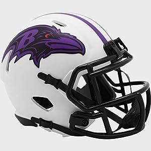 Baltimore Ravens NFL Mini Speed Football Helmet LUNAR ECLIPSE - New in Box