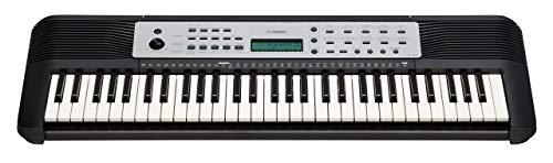 YAMAHA Digital Keyboard YPT-270, schwarz – Vielseitiges Einsteiger-Keyboard mit 61 Tasten & zahlreichen Funktionen zum Lernen – Tragbares E-Keyboard im kompakten Design