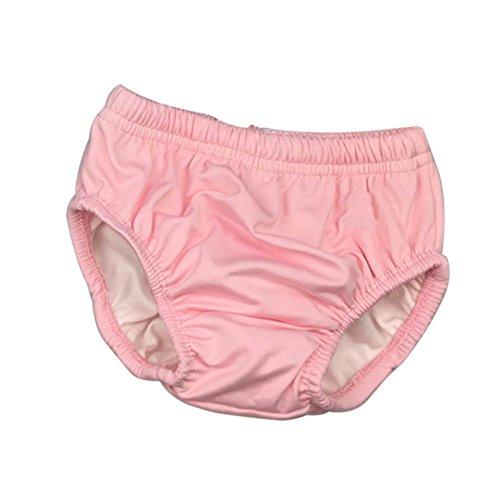 Kalaokei B¨¦b¨¦ Imperm¨¦Able ¨¤ l'eau Cordon de Natation Couche-Culotte Nappy Maillots de Bain-Pink L