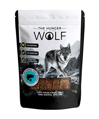 The Hunger of The Wolf - Snack de pescado para perros, 200g