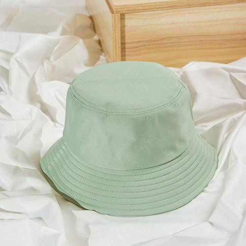 WAZHX Sombrero De Cubo Plegable De Verano Unisex para Mujer, Protector Solar Al Aire Libre, Gorra De Pesca De Algodón, Gorra De Caza para Hombre, Sombreros para Prevenir El Sol, Adultos 3Fruitgreen