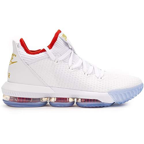 Nike Lebron XVI Low (Draft) White/Metallic Gold