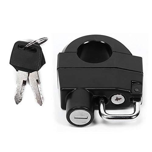Lucchetto per casco moto, 25mm/1 in alluminio Manubrio per moto Lucchetto per casco Lucchetto di sicurezza antifurto