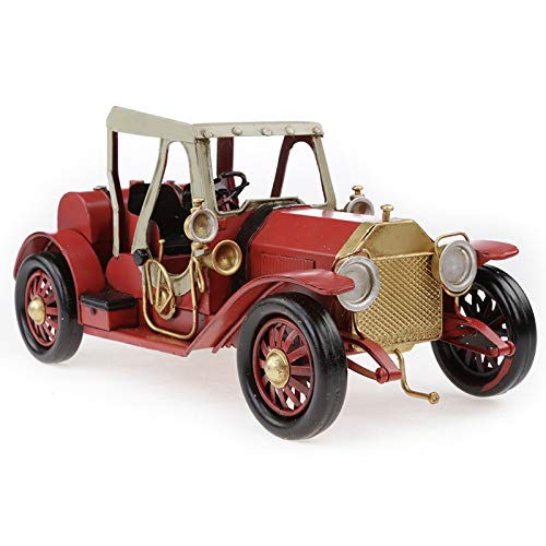 Buy and buy at Brandon Metal Crafts Iron Antique Convertible Classic Car Model Ornaments Creative Decorations