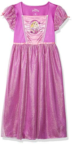 Disney Princess Mädchen Disney Girls' Fantasy Gown Nachthemd, Rapunzel Chic, 38