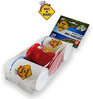 Bags On Board Bag Dispenser (3 Dispensers 36 Bags)