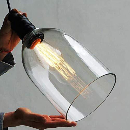 Industrielle Vintage Pendelleuchte E27 LED - 3