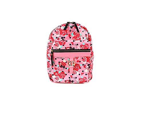 Sanrio Hello Kitty Mochila Casual Moda Escuela Bolsa Rosa Flores Rosa A1606 178-152 Japón Importación