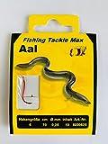 FTM Haken gebunden Aal 70cm - Aalhaken, Größe/Durchmesser/Inhalt:Gr. 6 / 0.25mm / 10 Stück