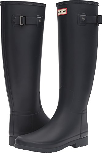 HUNTER Original Refined Rain Boots Navy 5