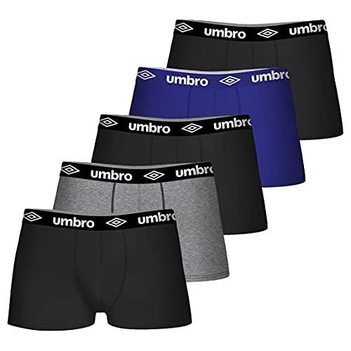 Umbro Boxer Umb/1/Bcx5 Pantaloncino, Multicolore, M Uomo