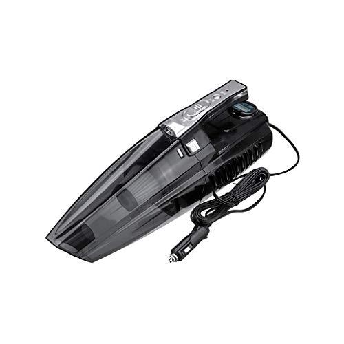 XYSQWZ Bomba Inflable para Aspiradora De Coche MultifuncióN 4 En 1 De 120 W con Pantalla Digital Compresor De Aire AutomáTico PortáTil De Doble Uso para Coche (Color: Digital)