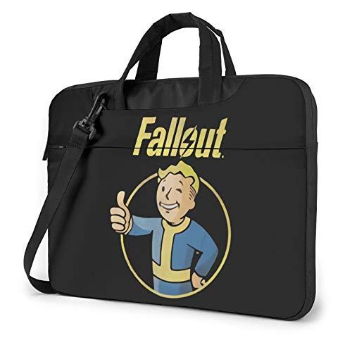 Fallout Vault Boy Single Shoulder Laptop Bag Briefcase Multi-Size Waterproof Travel