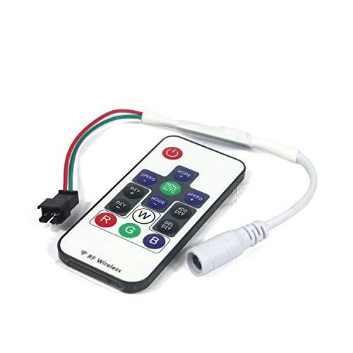 Taikuwu WS2811 und WS2812B 14 Schlüssel Wireless RF LED RGB Controller 358 Verschiedene Arten von digitalen Farbe LED-Lichtmodul Streifen