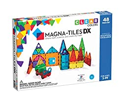 Magna Tiles Magna-tiles deluxe magnetic toy for kids magnetic toy for toddlers magnetic blocks educational toys learning toys for kids toddler tiles