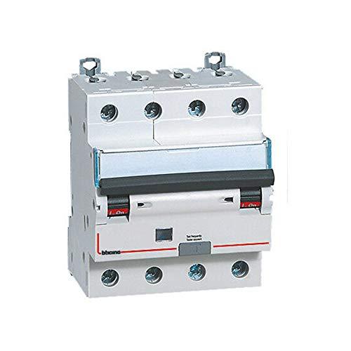 Interruptor magnetotérmico diferencial AC 4P 20A 6KA 300MA 4MOD - Bticino LEGRAND G8844/20AC