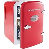 Frigidaire Mini Portable Compact Personal Fridge (Red)