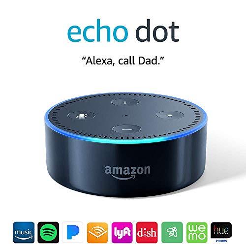 Echo Dot (2nd Generation) - Smart speaker with Alexa - Black