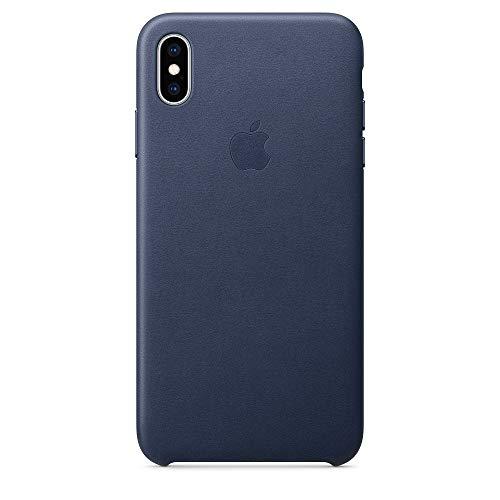 Apple iPhone XS Max レザーケース -  ミッドナイトブルー(アップル 純正品/メーカー型番:MRWU2FE/A)