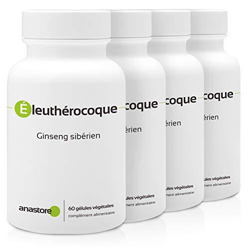 ELEUTEROCOCCO * PACK 3+1 GRATIS * 500 mg / 240 capsule * Titolato allo 0,8% in eleuterosidi * Energia, Equilibrio emozionale