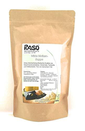 Diät Suppe - Fastenbrühe - BEWÄRTES RASO Suppen Rezept - Milde Molkensuppe ohne Fett 600 g kalorienarme Suppe zum abnehmen