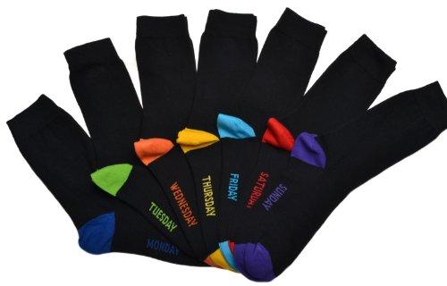 7 Paar Socken für alle Tage der Woche, Herren