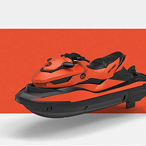 FYRMMD Barco de Velocidad de Agua de 2,4 GHz Juguete de Agua eléctrico Impermeable Barco de Control Remoto Juguete Boa de Velocidad competitiva (Coche de Control Remoto)