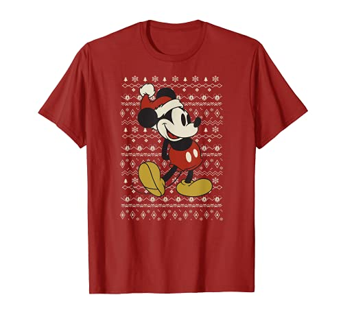 Disney Vintage Mickey Mouse Holiday T-Shirt