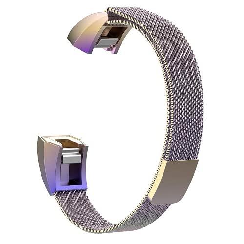 G-RF Bandas De Reloj para Fitbit Alta/Alta HR/Ace Acero Inoxidable Milán Magnético Correa (S,Multicolor)