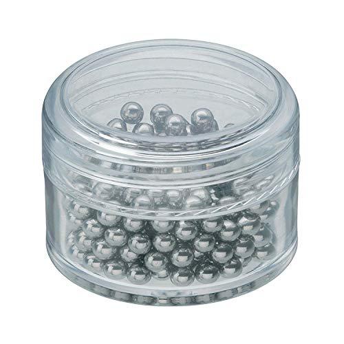 WMF Basic Reinigungsperlen Cromargan Edelstahl, zur Reinigungen für Karaffen, Dekanter, Vasen oder Flaschen, löst Verunreinigungen