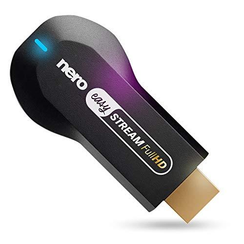 Das Original: Nero Easy Stream FullHD - HDMI Stick -> Handy Fotos & Videos auf den TV/Fernseher anzeigen