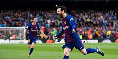 Bucraft Lionel Messi Happy in The Game - Cuadro de 20 x 10 cm