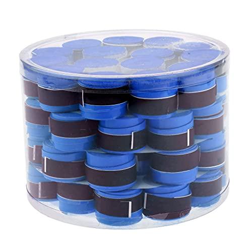yotijar 50 cintas antideslizantes para raqueta de tenis, color azul, como se describe