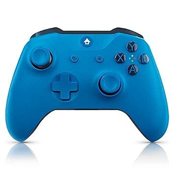 Usergaing Xbox Controller Wireless Fits for Xbox Series X/S/Xbox One/Xbox One S/One X/One Elite/Windows 7/8/10/ Wireless PC Gamepad with Audio Jack-Blue