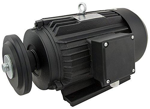 Elektromotor/Kreissägenmotor P1=5,5 kW; S6-40% ED; Bauform B3; 230/400 Volt; ca. 1500 U/min; 50 Hz; IP55