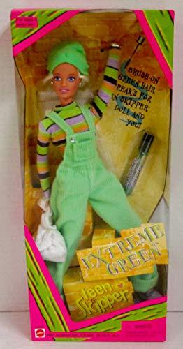 Barbie Extreme Green Teen SKIPPER Doll (1997)