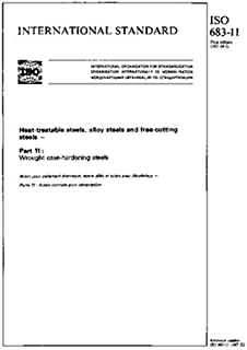 ISO 683-11:1987, Heat-treatable steels, alloy steels and free-cutting steels - Part 11 : Wrought case-hardening steels