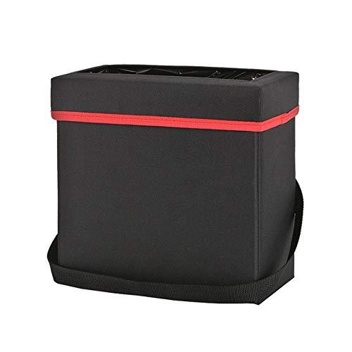 LUOFEISI Caja de Almacenamiento contenedor de Basura del Coche Bolsa de Basura Bolsa de Almacenamiento Plegable Caja de Almacenamiento cinturón de Almacenamiento Servilleta Bolsa de Almacenamiento