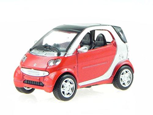smart ForTwo rot Modellauto 19123A NewRay 1:43