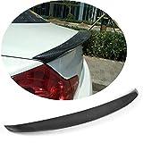 Jun-star Carbon Fiber Rear Trunk Lip Spoiler for Infiniti G37 2009-2013 G25 G35 2011-2012 Sedan Boot Wing Lip