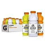 Gatorade Zero Sugar Thirst Quencher, Glacier Cherry Variety Pack, 20 Fl Oz (Pack of 12)
