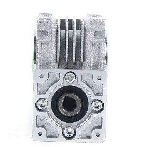 Ethedeal Worm Gearbox - Worm Gear Box 50:1 Speed Reducer Reduction 11mm Input Stepper Motor (50:1)