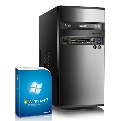 CSL Multimedia PC Sprint 5812Pro inkl. Windows 7 Pro - AMD A8-6600K APU 4X 3900 MHz, 16 GB RAM, 240 GB SSD, Radeon HD 8570D, DVD-RW, GigLAN, USB 3