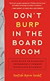 Don't Burp in the Boardroom - Rosalinda Oropeza Randall