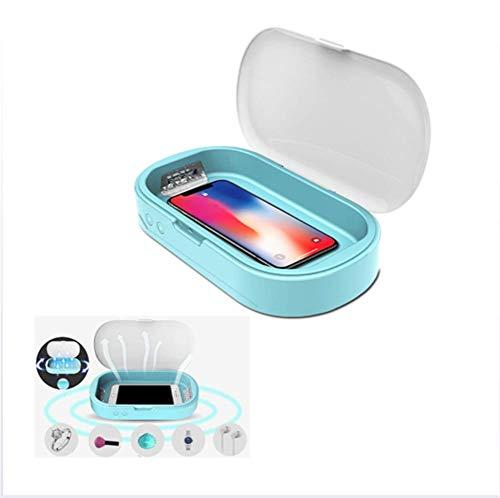 GUALA UV-Desinfektion Box Sterilisator Tragbare Aroma Funktion Desinfektor Putzkasten für Telefon Zahnbürste Schmuck Unterwäsche-Uhr mit USB-Stromleitung