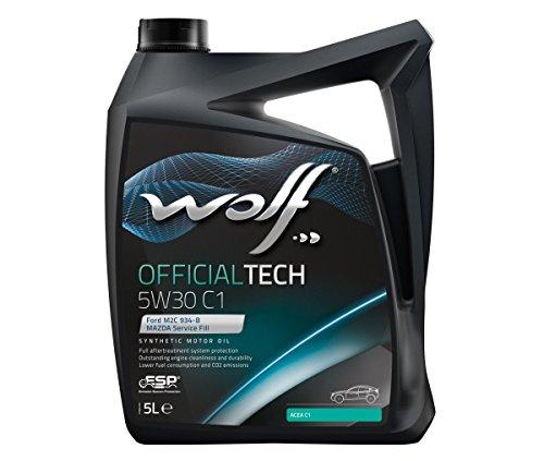 Wolf - Bidon 5 litres d'huile Moteur 5W30 C1 SYNFLOWC15W305-8307911