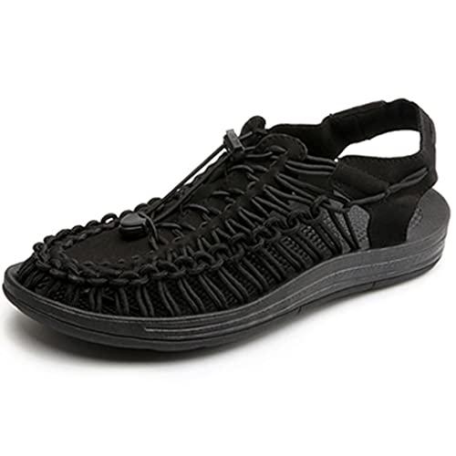 YUESFZ Zapatos para Caminar Al Aire Libre Femeninos, Botas Anfibias De Secado Rápido para Hombre, Sandalias De Playa Antideslizantes De Verano (Color : D, Size : US-8.5(Men))