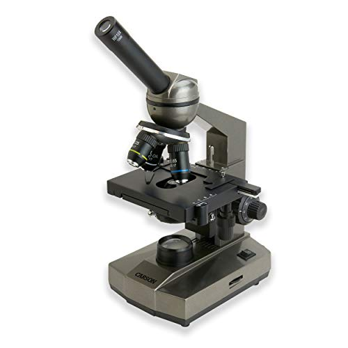 Carson Intermediate 100x-1000x Biological Microscope with Mechanical Stage (MS-100)